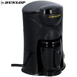 Dunlop Auto-Kaffeemaschine für 1 Tasse Schwarz