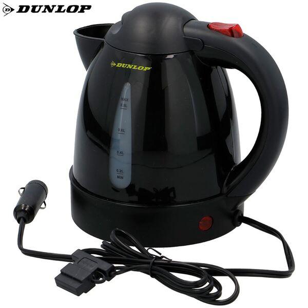Dunlop Auto-Wasserkocher 0,8L Schwarz