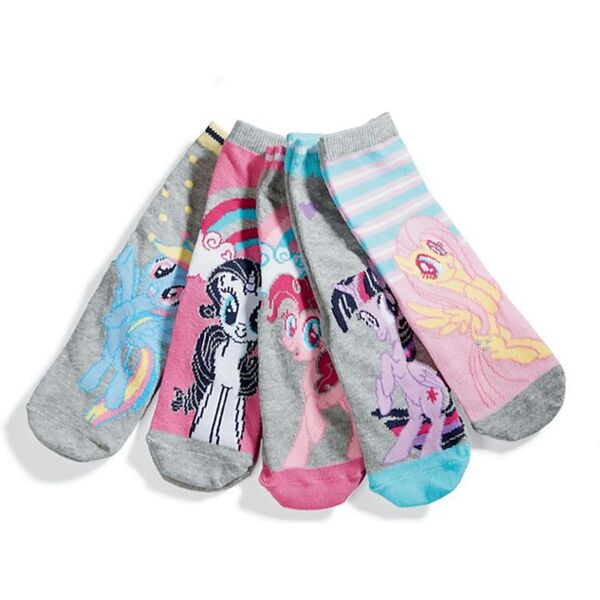Kinder Socken, 5er Pack, My little pony Gr. 31-34