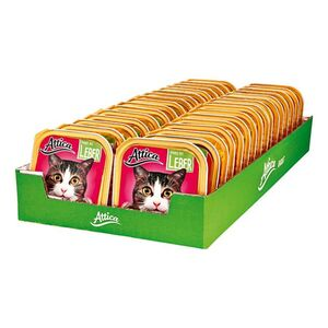 Attica Katzenfutter Ragout mit Leber 100 g, 32er Pack