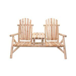 bellavista Zweisitzer-Bank mit Tisch Timber