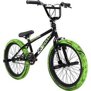 KS Cycling BMX Freestyle 20'' 23 Circles schwarz-grün