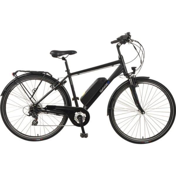 SAXXX Touring E-Bike schwarz matt