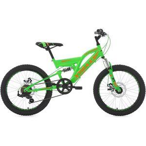 KS Cycling Kinder-Mountainbike 20 Zoll Fully Xtraxx