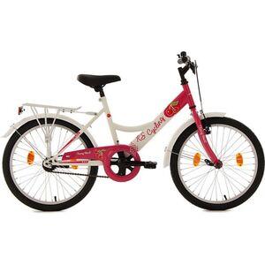 KS Cycling Kinderfahrrad Mädchenfahrrad Cherry Heart 20 Zoll