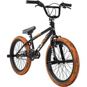 KS Cycling BMX Freestyle 20'' 23 Circles schwarz-orange