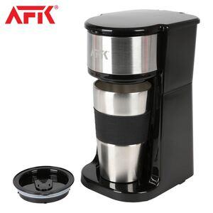 AFK Kaffeemaschine TKME-700.4 mit Reisebecher Schwarz