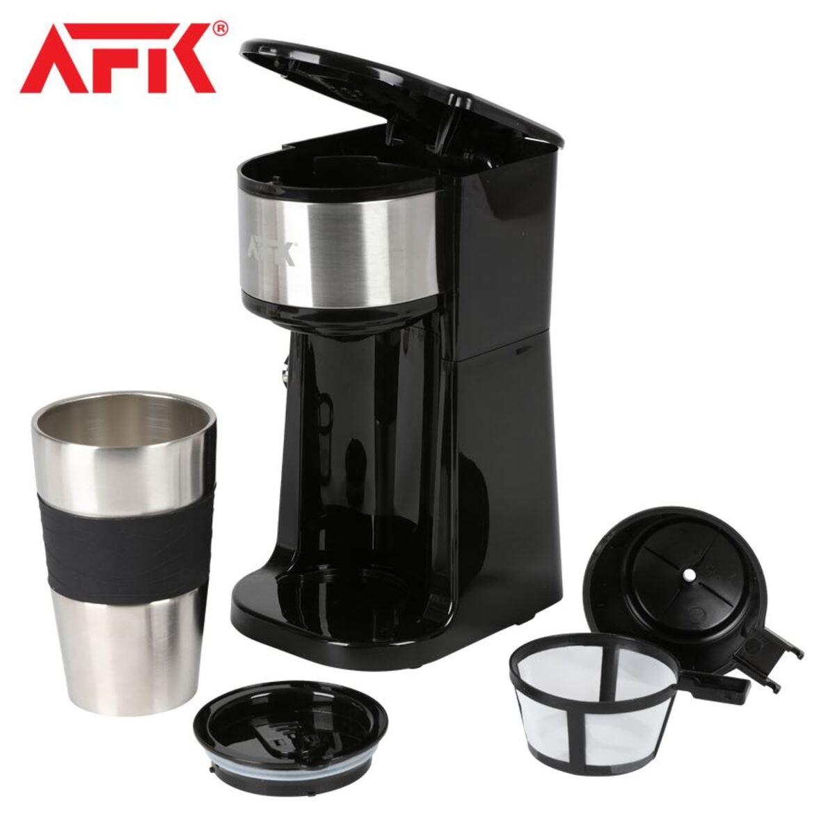 Bild 2 von AFK Kaffeemaschine TKME-700.4 mit Reisebecher Schwarz
