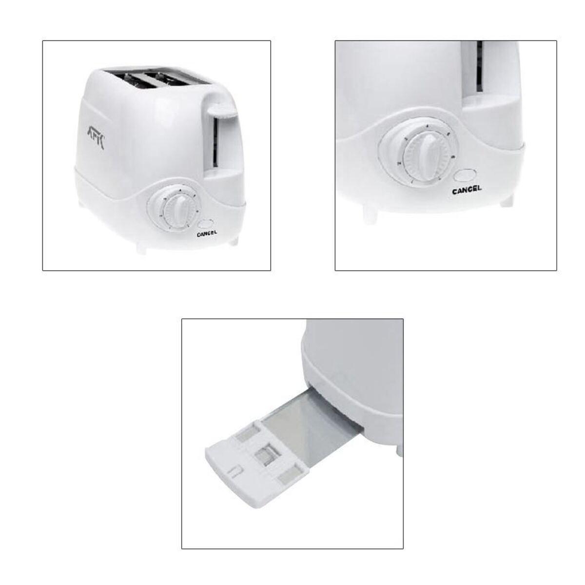 Bild 2 von AFK Toaster CTO-850.1 Weiß