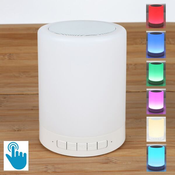 Multifunktions-Touch-Lampe mit Bluetooth-Lautsprecher