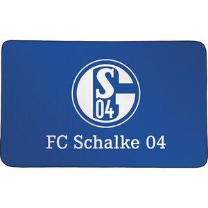 S04 Sporthandtuch Deluxe 80x130cm weiß/blau