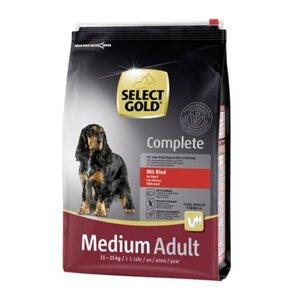 SELECT GOLD Complete Medium Adult Rind 4kg