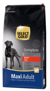 SELECT GOLD Complete Maxi Adult Rind 12kg