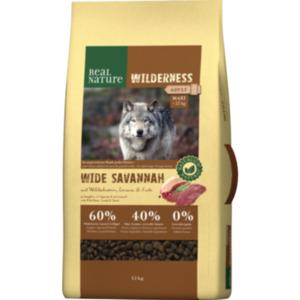 REAL NATURE WILDERNESS Maxi Adult Wide Savannah mit Wildschwein, Lamm & Ente 12kg