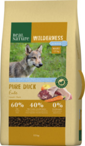 REAL NATURE WILDERNESS Maxi Junior Pure Duck 12kg