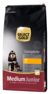 SELECT GOLD Complete Junior Medium Huhn 12kg