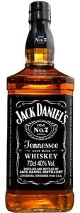 Jack Daniel´s Whiskey No7 Black Label 0,7 ltr