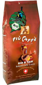 Piu Caffe Schümli Bio & Fair ganze Bohnen 750 g