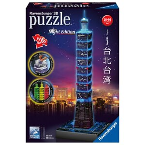 Ravensburger - 3D Puzzle: Taipei, Night Edition