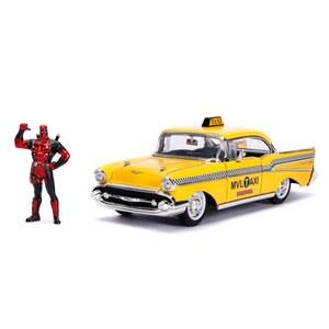 Deadpool - Taxi Automodell mit Figur