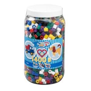 HAMA- Bügelperlen: 1400 Maxi Perlen