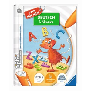 Ravensburger - tiptoi Buch: Lern mit mir! Deutsch 1. Klasse
