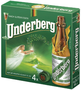 Underberg Kräuter-Bitter 4x 20 ml