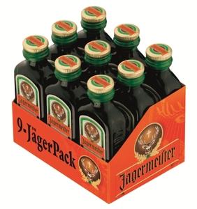 Jägermeister Kräuterlikör Partypackung 9x 20 ml