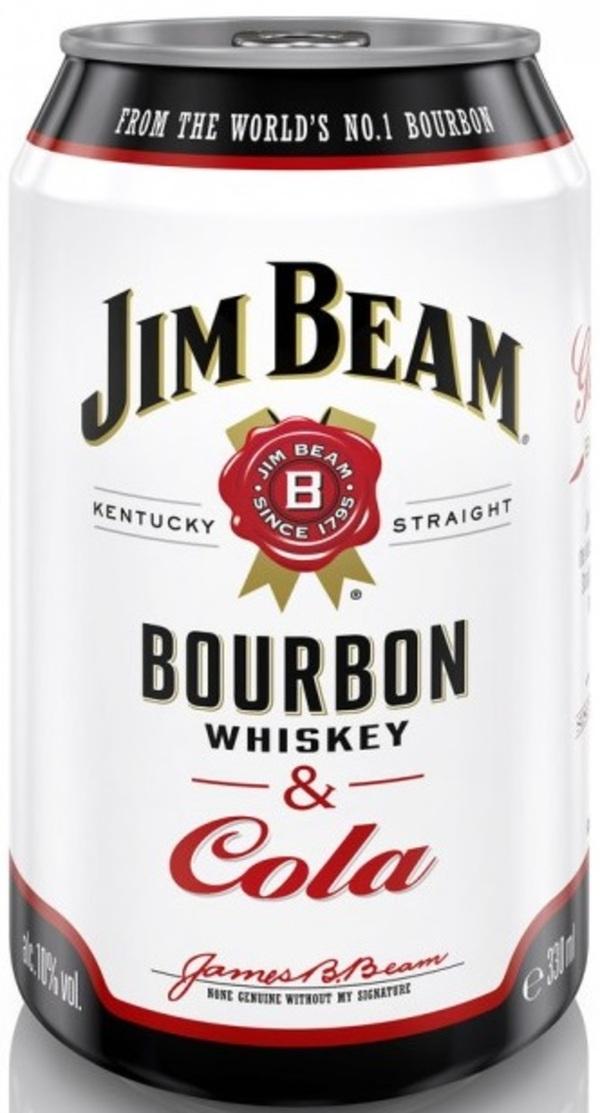 Jim Beam Bourbon & Cola Dose 0,33 ltr