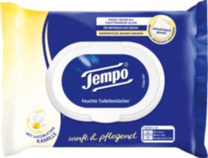 Tempo Feuchtes Toilettenpapier sanft & pflegend