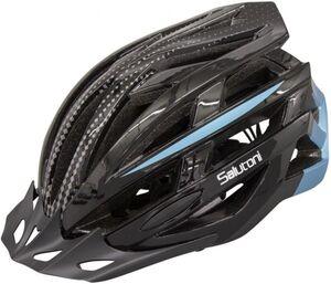 Fahrradhelm - Erwachsene - blau/schwarz