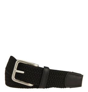 Jack&Jones Originals Gürtel, geflochten, Dornschließe, Leder-Details, elastisch