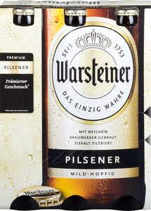 WARSTEINER  Premium Pilsener oder Radler