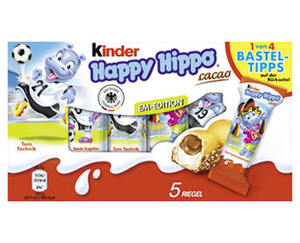 FERRERO Kinder Happy Hippo®  cacao