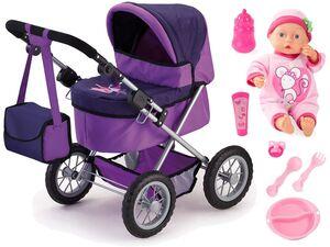 Bayer Design Puppenwagen Trendy Set