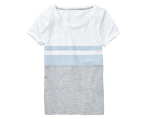 blue motion T-Shirt, Pastell