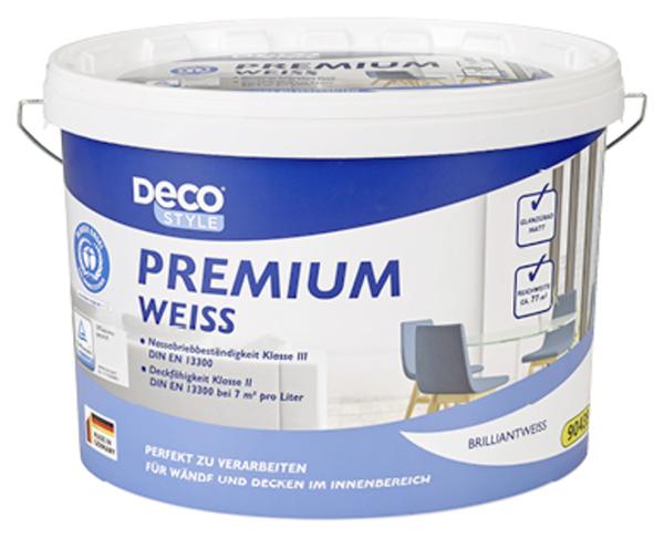 24 Premium Weiss Wandfarbe Aldi