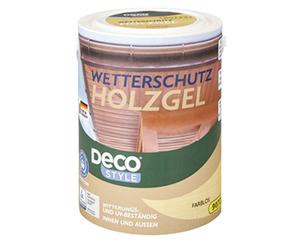 DECO STYLE®  Wetterschutz Holzgel, 5 l