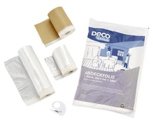 DECO STYLE®  Abdeckfolien-Set, 6-teilig