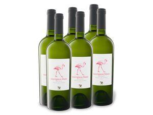 6 x 0,75-l-Flasche Valle De Leyda Sauvignon Blanc Gran Reserva trocken, Weißwein