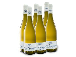 6 x 0,75-l-Flasche Collin Bourisset Coteaux Bourguignons AOP trocken, Weißwein