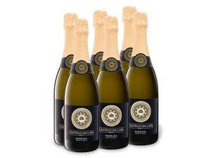 6 x 0,75-l-Flasche Castelo da Lapa Bairrada DOC Vinho Espumante brut, Schaumwein