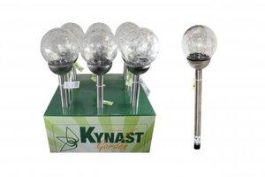 LED Solar Glaskugellampe