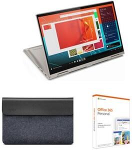 "Yoga C740-IML (81TC009JGE) 35,6 cm (14"") 2 in 1 Convertible-Notebook mica inkl. Yoga Sleeve + Office"