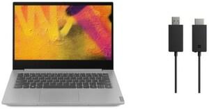 "IdeaPad S340-14IML (81N90026GE) 35,6 cm (14"") Notebook inkl. Microsoft Wireless Adapter V2 platinum"