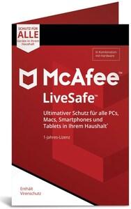 McAfee LiveSafe Device Attach (1 Jahr)