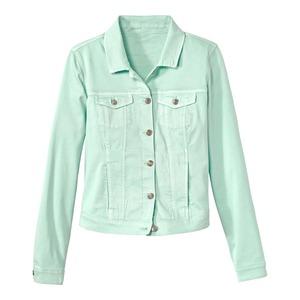 Damen-Jeansjacke in verschiedenen Farbvarianten