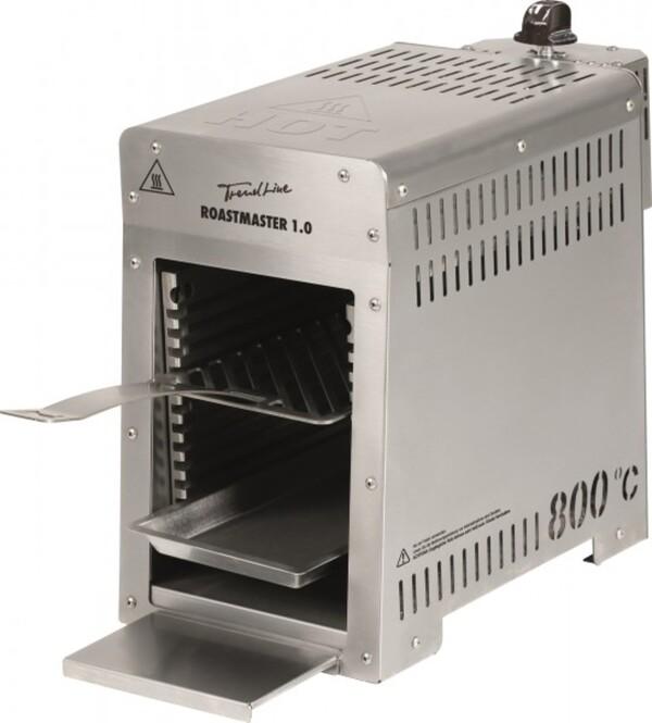 TrendLine Roastmaster 1.0 800 Oberhitze Gasgrill Grillfläche: 13,2 x 20,3 cm