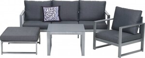Primaster Lounge-Set Limone inkl. Sitz- und Rückenkissen