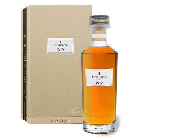 TESSERON COGNAC XO Passion la Collection Signature Limited Edition mit Geschenkbox 40% Vol